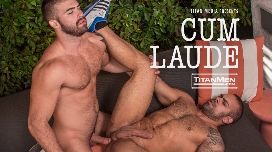 Cum Laude: Grads Lorenzo Flexx & Jonah Fontana Fuck In The Bushes