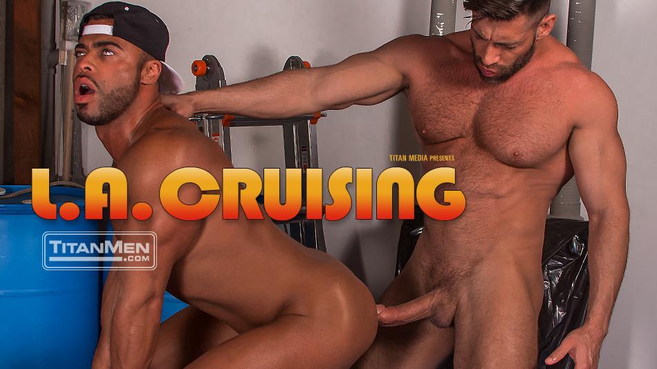 Scene 3: L.A. Cruising: Bruce Beckham with Micah Brandt