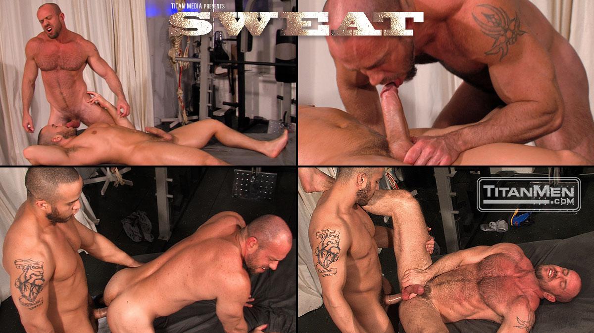 sweat scene